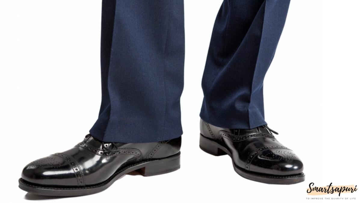 ビジネスマンのスーツを着こなすコツは裾