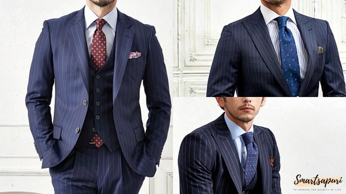 ビジネスマンのスーツを着こなすコツはドットのネクタイと白色シャツ
